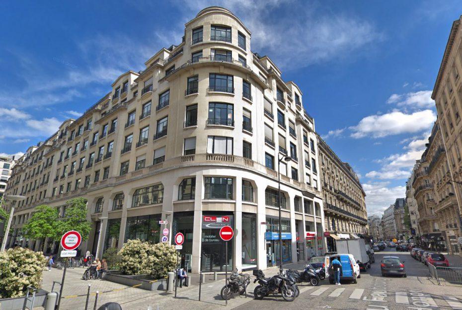 Vue Faubourg St Honoré